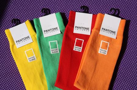 Носки-шпаргалки от Институт цвета Pantone