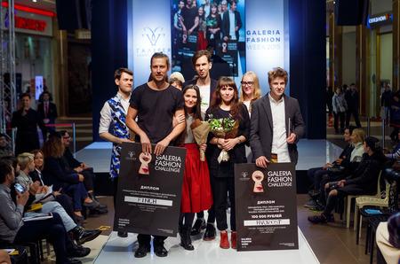 В Петербурге выбрали победителя конкурса молодых дизайнеров Galeria Fashion Challenge 2015