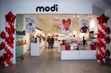 В Москве открылись первые магазины сети MODI