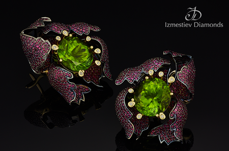 "Коллекция ""Японский сад""  от Izmestiev Diamonds."