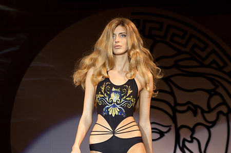 BOSCOFASHIONWEEK показ Versace Collection