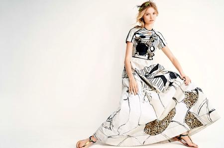 Магдалена Фраковяк в объективе Патрика Демаршелье для Vogue China Июнь 2014