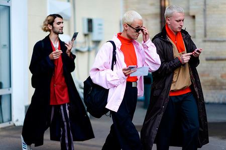 Парни на Ukrainian Fashion Week
