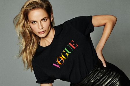Новое лицо Vogue Fashion's Night Out