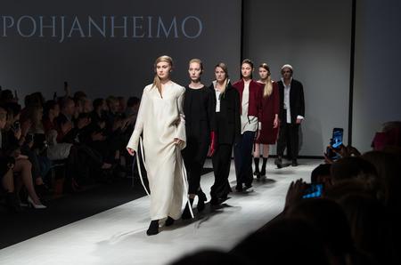Показ POHJANHEIMO осень-зима 2017-18 в рамках Riga Fashion Week