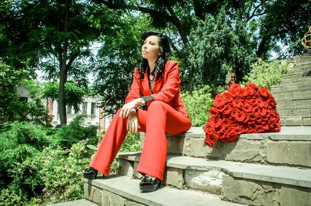 Фотосессия «101 роза для Femme Fatale »