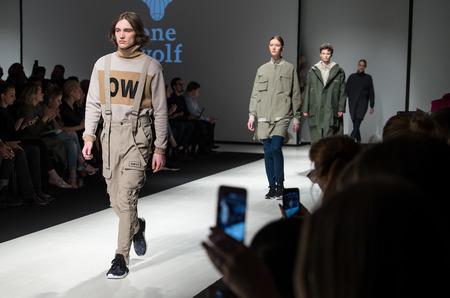Показ ONE WOLF осень-зима 2017-18 в рамках Riga Fashion Week