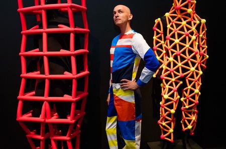 Выставка футуристичной моды в Москве