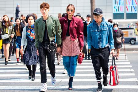 Стритстайл: Гости Недели моды в Сеуле. Осень, 2017
