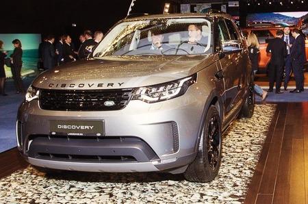 Прототип пятого поколения Land Rover Discovery эксклюзивно выставлен в «АФИМОЛЛ Сити»