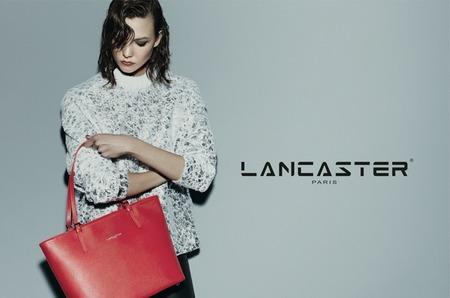 Карли Клосс - лицо осенней рекламной кампании Lancaster Paris