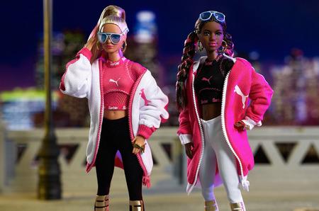 Совместная коллекция от Mattel и Puma