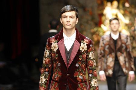 Dolce Gabbana Man Show Winter 2014