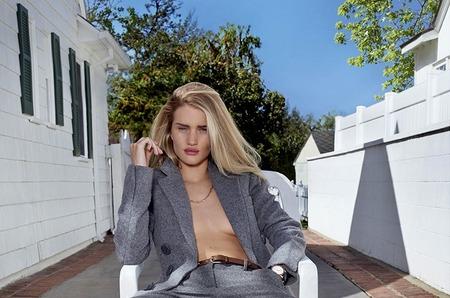 Рози Хантингтон-Уайтли в съемке для V Magazine