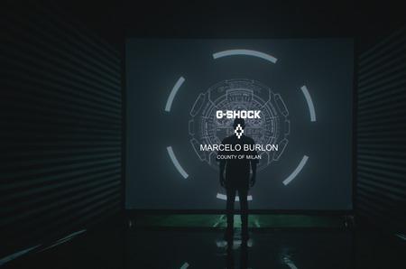 Презентация коллаборации G-SHOCK x Marcelo Burlon в универмаге «Цветной»