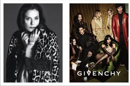 Рекламная кампания Givenchy с Изабель Юппер
