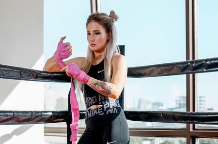 Анастасия Янькова в новом лукбуке STREET BEAT SPORT