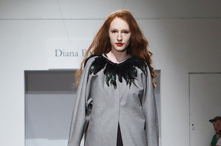 Diana Pavlovskaya collection Fall-Winter 2012-2013 Belarus Fashion Week