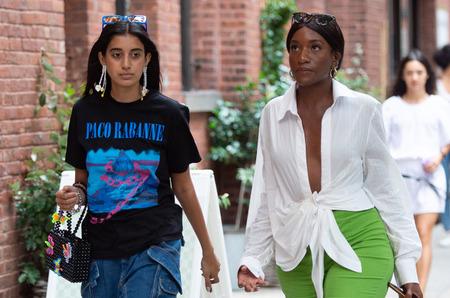 Стритстайл: Неделя моды в Нью-Йорке. Весна, 2020