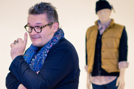 Мода, стиль и предпраздничные советы в мастер-классе от историка моды Александра Васильева