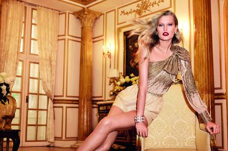 Тони Гаррн - смелая героиня новой коллекции Elisabetta Franchi