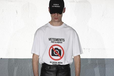 Неделя моды в Париже: Vetements. Осень, 2020
