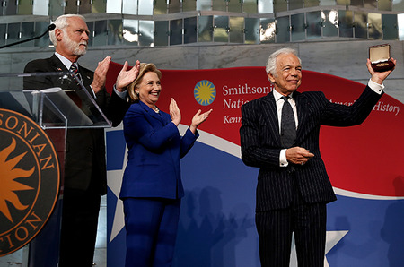 Ральф Лорен был награжден медалью Smithsonian Institution