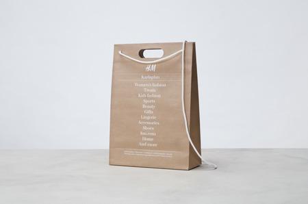 Бренд H&M занимается разработкой многоразовой упаковки