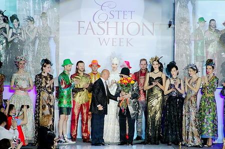 Юбилей Вячеслава Зайцева на Estet Fashion Week
