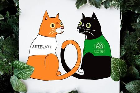 Онлайн-флешмоб «Весенний кот» от «Аптекарского огорода» и центра дизайна Artplay