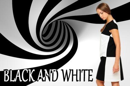 Классика модного жанра: черное и белое