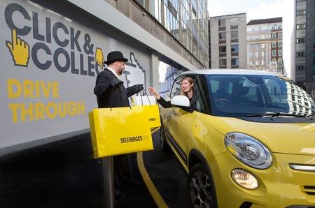 «Автомобильный» шопинг от Selfridges