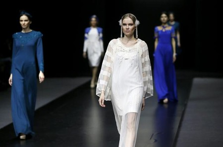 Неделя моды в Москве. Показ FashionTime Designers: Diana Pavlovskaya, осень-зима 2014/15