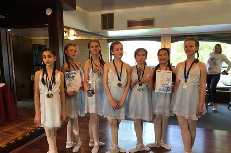 Юные танцоры из Московского заняли призовые места на Ладоге-2019