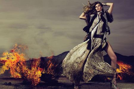 Жизель Бундхен в рекламной кампании Roberto Cavalli
