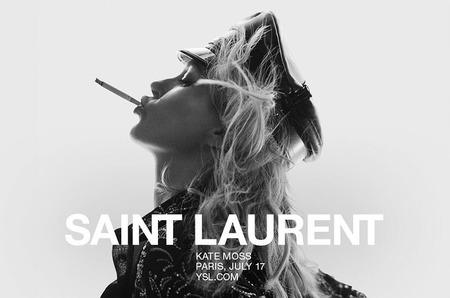 Кейт Мосс названа лицом Saint Laurent