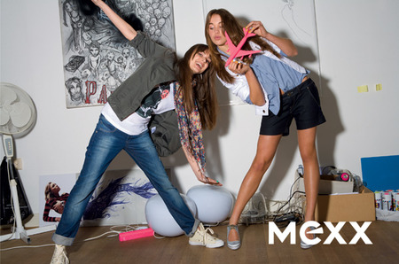 Девушка в стиле XX by Mexx весна - лето 2009