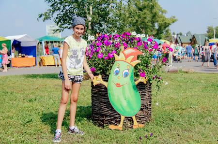 Летом в Суздале отмечают День Огурца