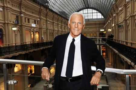 Марка Emporio Armani переносит показ в Лондон