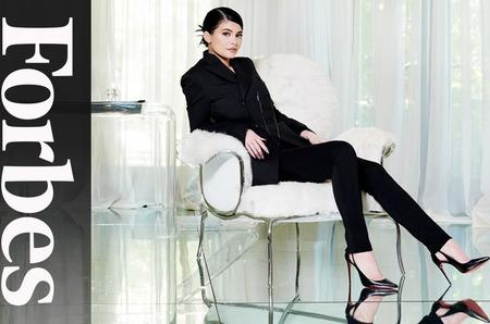 Кайли Дженнер на обложке Forbes