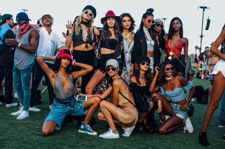 Фестивальный стиль: Coachella 2017
