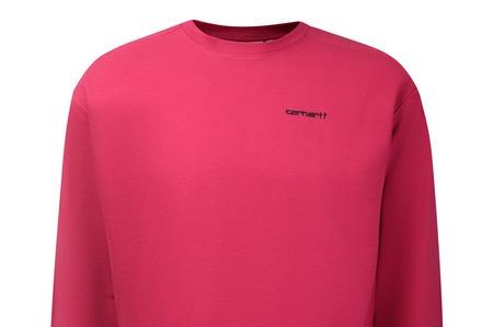 Новинки в STREET BEAT: женская толстовка Carhartt WIP  Script Embroidery Sweatshirt