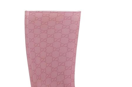 Гламурные резиновые сапоги от Gucci