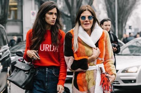 Стритстайл: Гости Недели моды в Милане