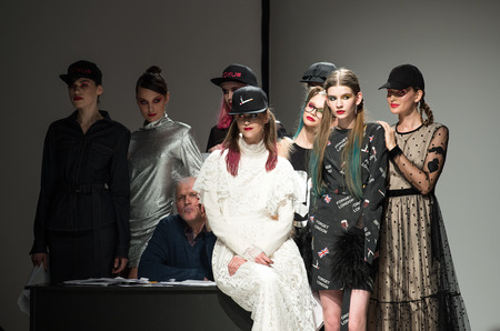 Показ Nolo осень-зима 2017-18 в рамках Riga Fashion Week