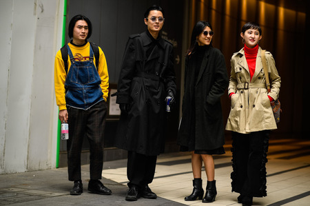Стритстайл: Гости Недели моды в Токио