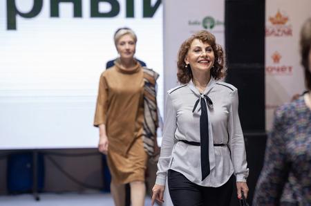 Портал «Баба-Деда» провел три показа 50+ в честь юбилея проекта «Подиум зрелой красоты» в Москве