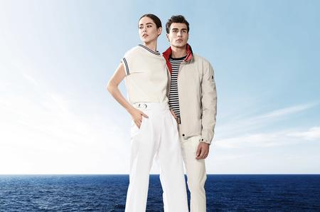 Морской стиль в летней коллекции Marina Yachting