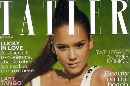 Джессика Альба в журнале Tatler