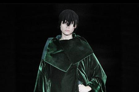 Показ коллекции Giorgio Armani. Осень-зима 2010-2011.